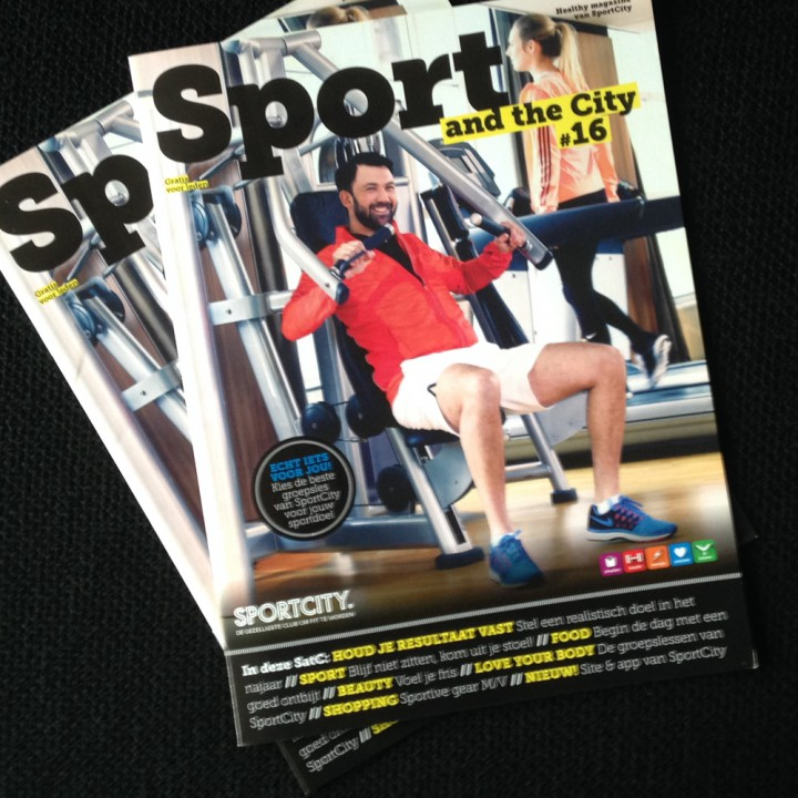 Marketing: magazine voor leden SportCity